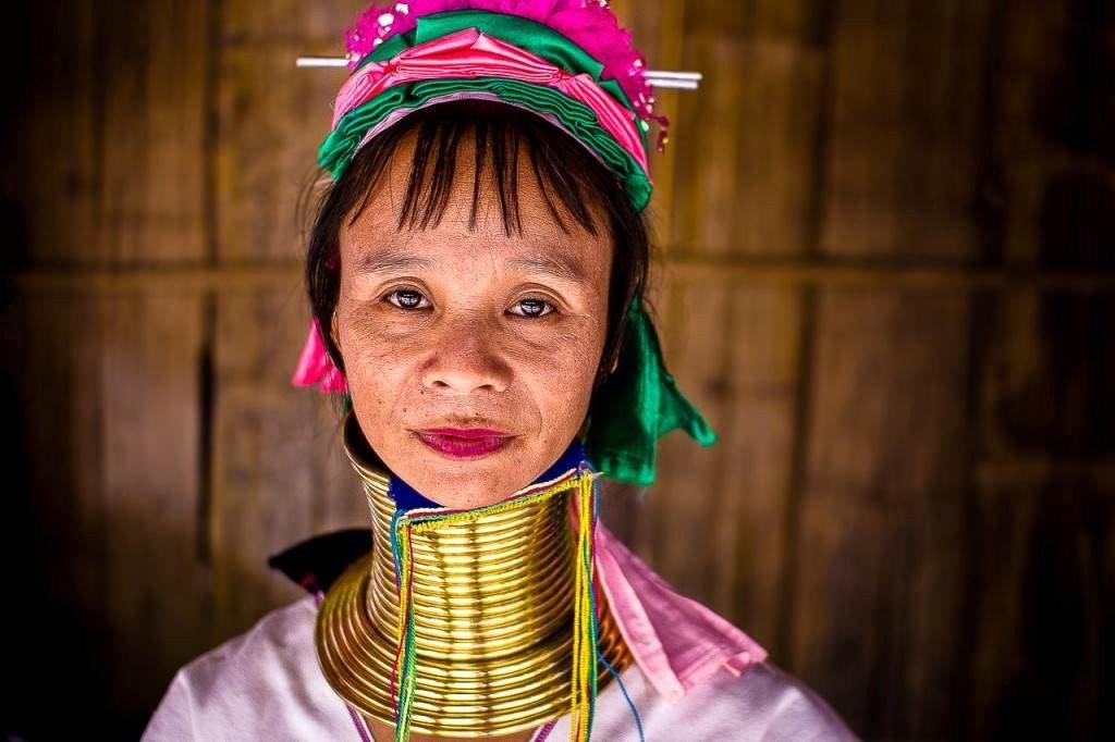 قبیله زنان گردن دراز در تایلند
